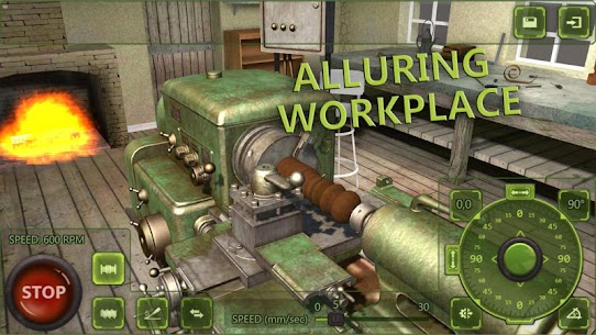 Lathe Machine 3D: Milling & Turning Simulator Game  Apk Download For Android and Iphone 1