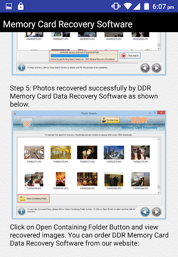Memory Card Recovery Software 3.2 screenshots 5