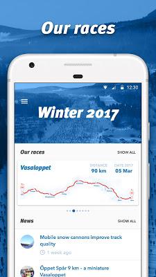 Vasaloppet Winter - screenshot
