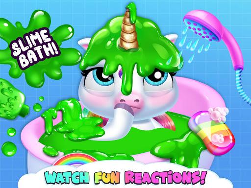 My Baby Unicorn - Virtual Pony Pet Care & Dress Up android2mod screenshots 15
