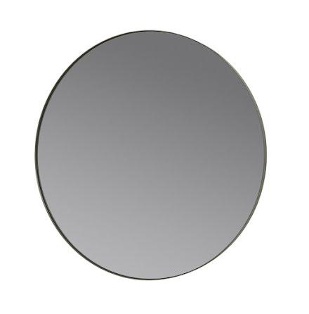 RIM, Rund Väggspegel Ø 80 cm, Steel Grey (H)