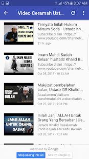 Ceramah Khalid Basalamah Offline Lengkap Video - náhled