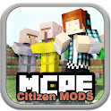 Citizen Mods For MCPE icon