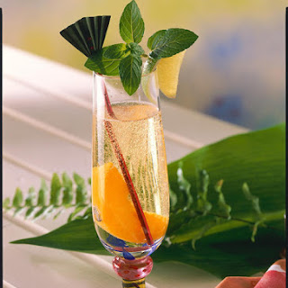 Peach Beach Cocktail.