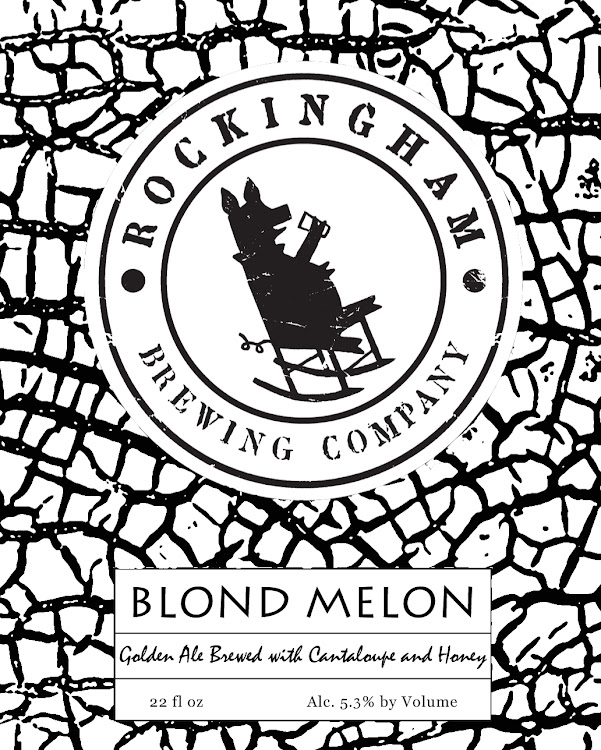 Logo of Rockingham Brewing Company Blond Melon