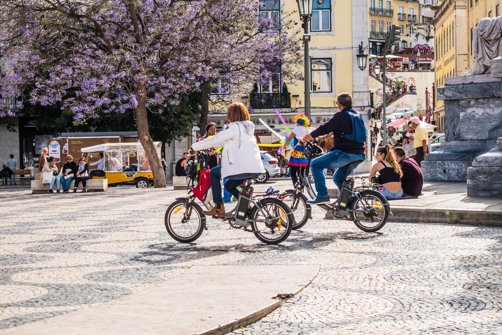 Portugal é um dos países da União Europeia que menos usa a bicicleta como meio de transporte principal.