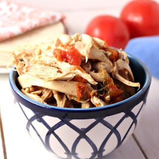 Crock Pot Mexican Shredded Chicken.