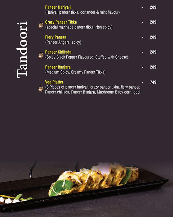 Ecstacy Bar n Eatery menu 4
