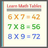 Learn Math Tables
