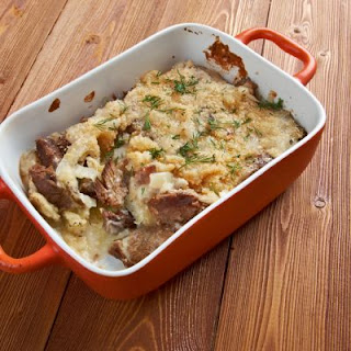 Simple Meat and Potato Casserole