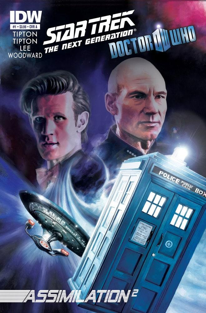 Doctor Who and Star Trek Meet in Comics Crossover | WIRED