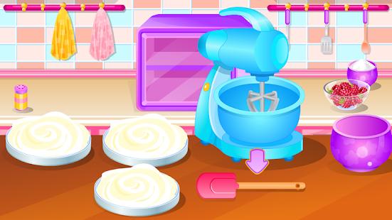 jeux de cuisine baies gâteau – applications android sur google play