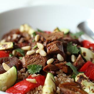 Warm Lamb and Bulgur Salad Recipe