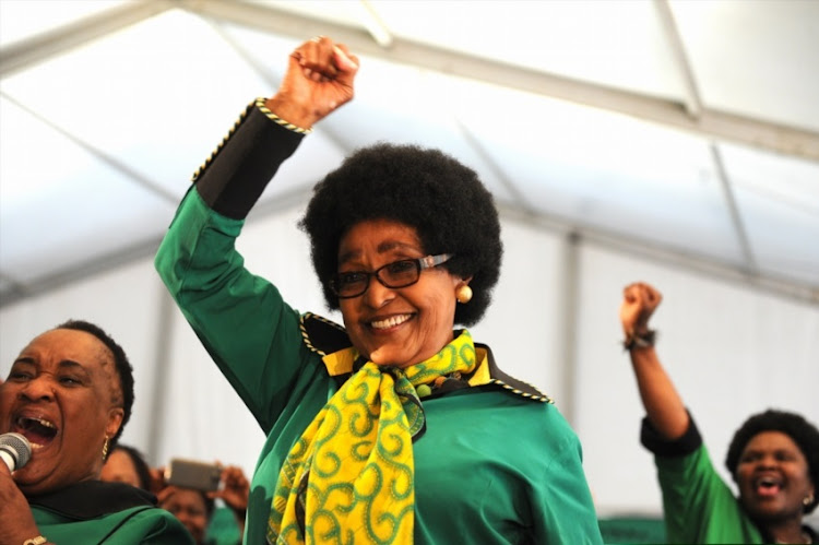 Winnie Madikizela-Mandela. File photo.