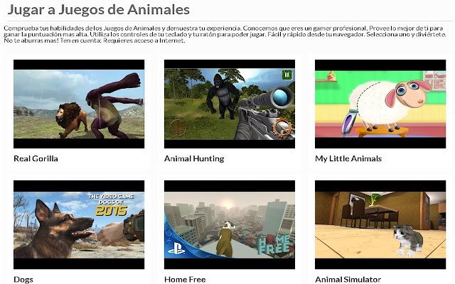 Juegos de Animales | AppbBack.pw