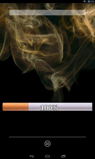 煙のタバコ - バッテリー