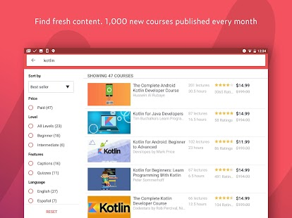 Udemy Online Courses- screenshot thumbnail