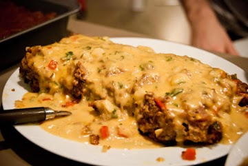 Elvis' Special Cheese Sauce For Meatloaf Recipe