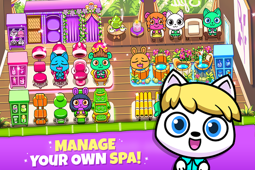Forest Folks - Your Own Adorable Pet Spa 1.0.2 screenshots 1