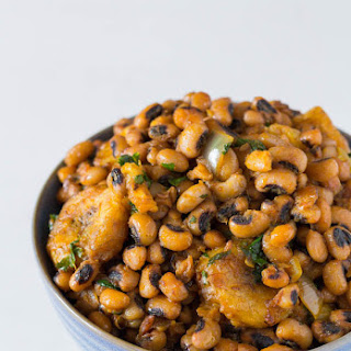One-Pot Beans and Plantains - West African Flavours