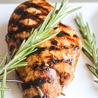 Rosemary/Soy/Balsamic Marinated Chicken.