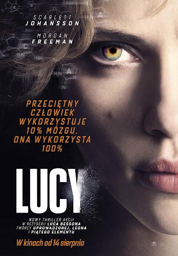 Polski plakat filmu 'Lucy'