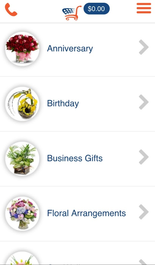 floralapp- screenshot