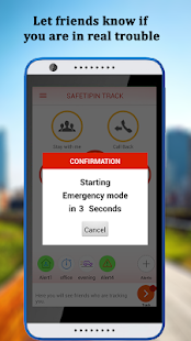 SafetiPin Track:GPS Tracker- screenshot thumbnail