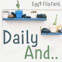 Egg9DailyAnd™ Latin FlipFont icon