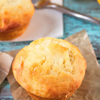 Lemon Curd Filled Muffins