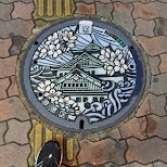 beautiful manholes - Backstreet Osaka Tours in Osaka, Osaka, Japan