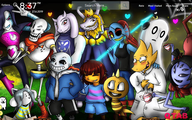 Undertale Wallpapers New Tab Theme