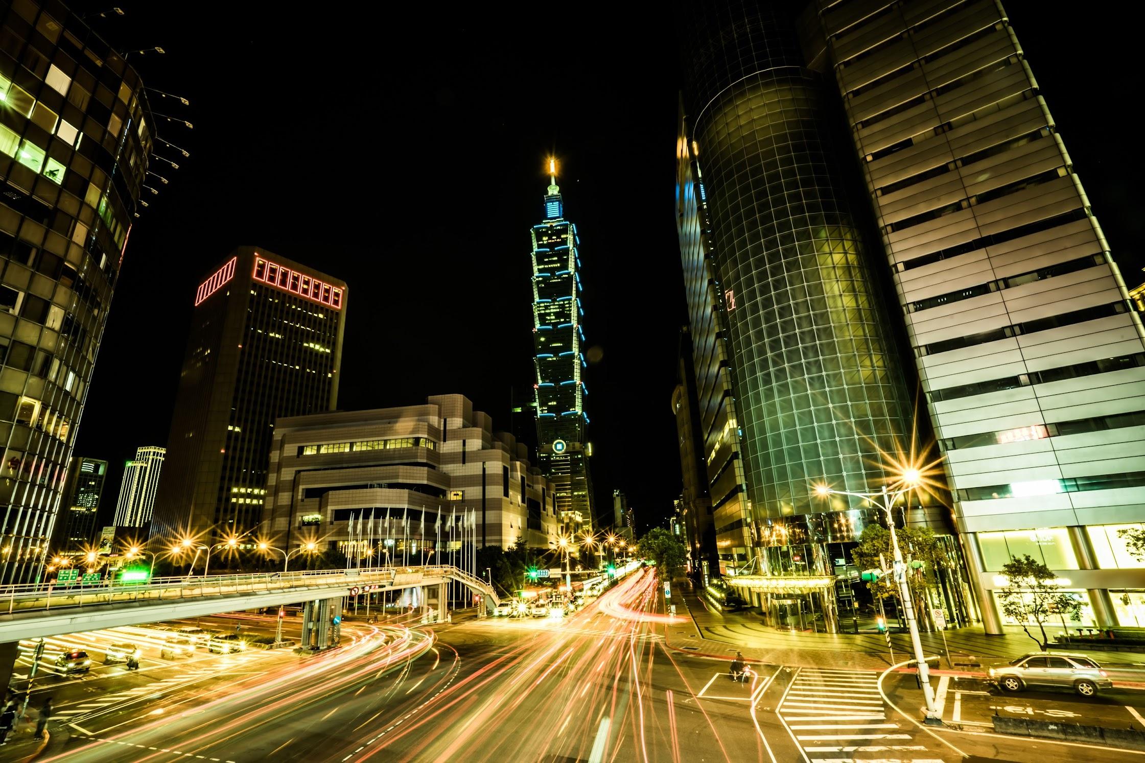 台北101 夜景2
