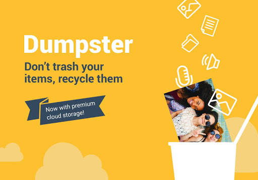 Screenshot for Dumpster: Recover My Deleted Picture & Video Files in United States Play Store