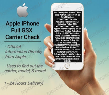 Apple iPhone Full GSX Check - Directly from Apple - GSM-Forum