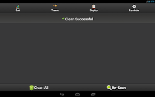 Screenshot of Cache Clean Easy - Optimize