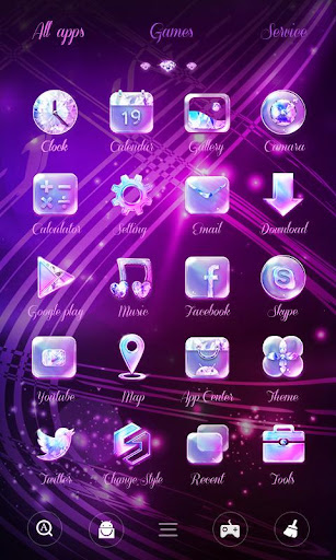 Twinkle GO Launcher Theme Screenshot