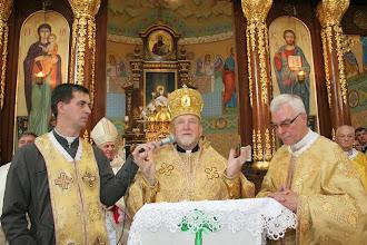 Photo: Владика Михаїл дякує за привітання і присутність на святі