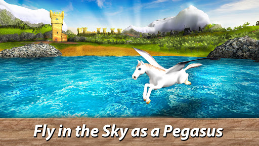 ud83eudd84ud83cudf08u2764ufe0f Pegasus Simulator: Flying ud83dudc0e Horse Survival 1.1 screenshots 10