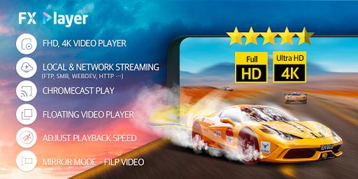 FX Player - video player, cast, chromecast, stream 2.0.2 screenshots 1