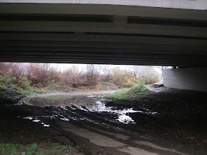 Photo: Zwykle można dojechać tutaj- most naDK1...
