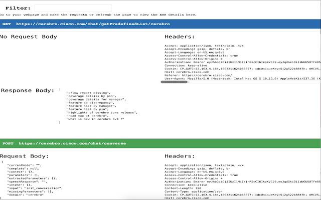 API Trace