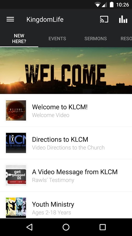 KLCM- screenshot