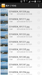 Cuckoo File Manager - náhled