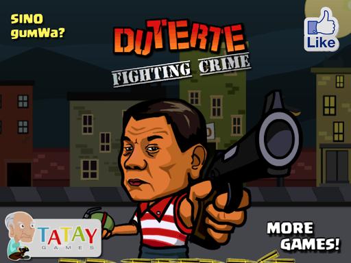 Duterte Fighting Crime