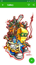 Graffiti Character APK screenshot thumbnail 5