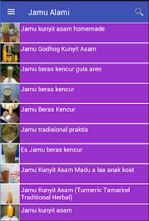 Jamu Alami - náhled