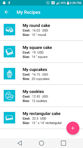 Screenshot for Price My Cake in United States Play Store