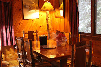 Photo: Enjoy a Lodge Take out dinner or cook yourself, the November Moon and April Melody Chalets have a kitchen