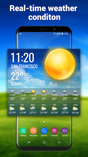 Weather Report Widget for android phone 10.3.5.2353 screenshots 1